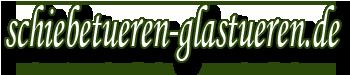 Schiebetüren und Glastüren logo