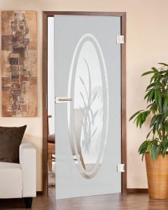 lichtdurchfluteter Zimmertüren