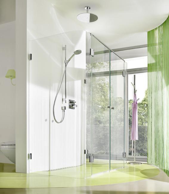 Stilvoll Akzente -Duschen