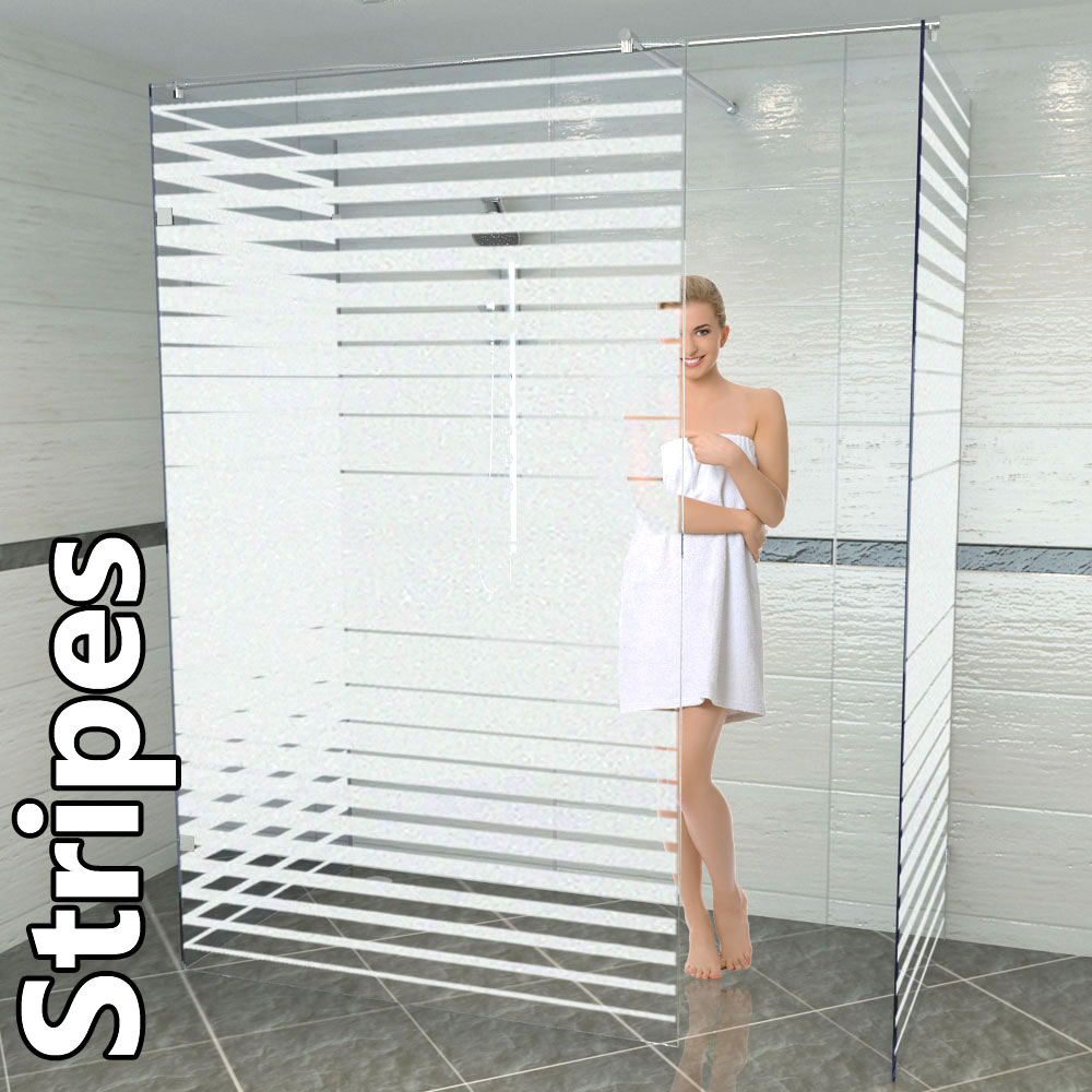 Duschtrennwand machen eine Kombination aus Eleganz