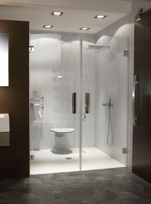 Duschkabinen lassen sich leicht reinigen