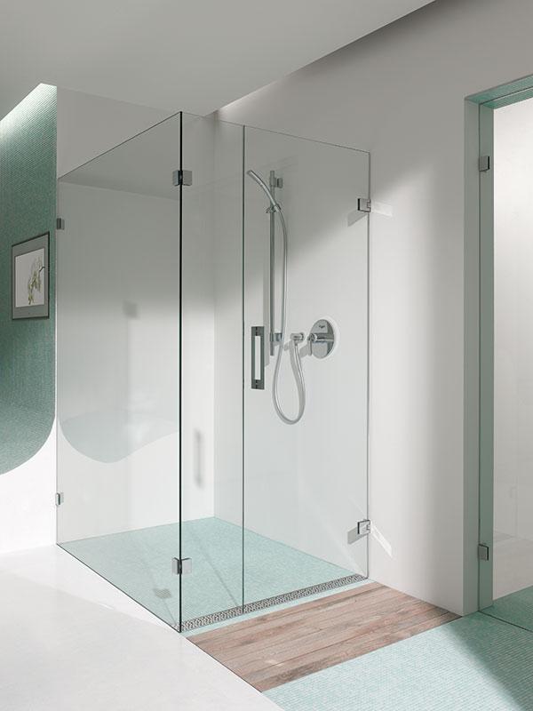 Duschkabinen stellen eine praktische Lösung