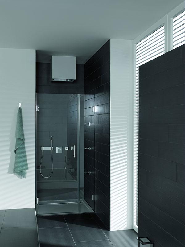 Duschkabinen-Glas oder verglaste Duschtüren werden immer aus Sicherheitsglas hergestellt.