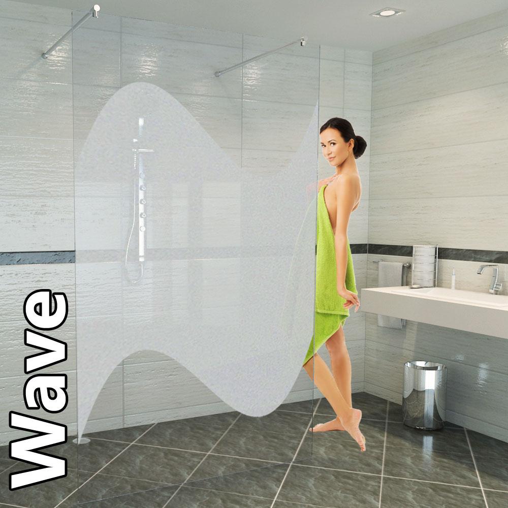 Eine normale Duschabtrennung Glas ist aus einem sogenannten Einscheibensicherheitsglas.