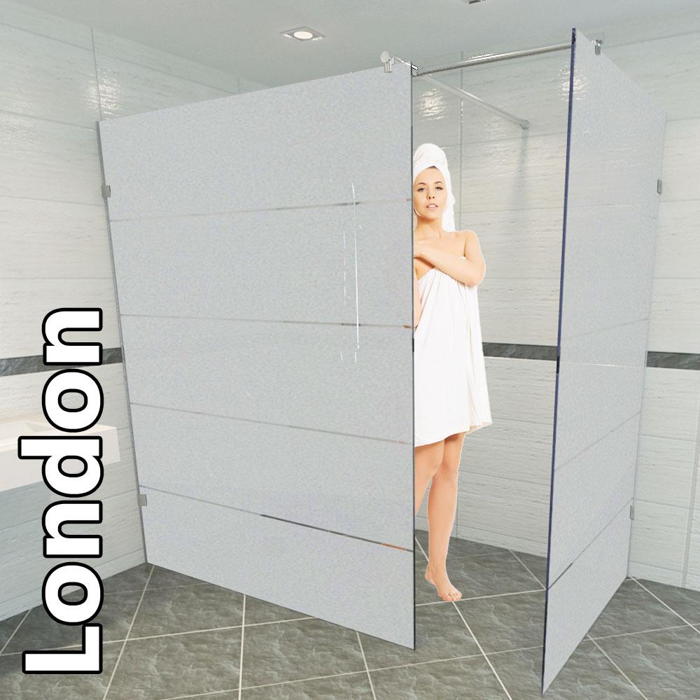 Duschabtrennung glas rund  Die Duschkabine aus Glas ist ein